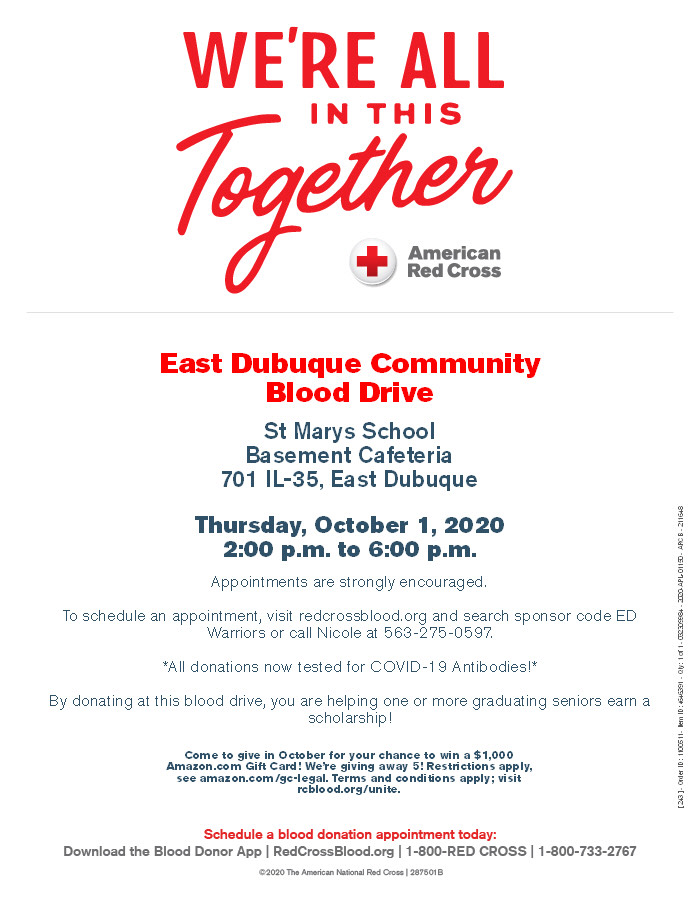 East Dubuque Blood Drive